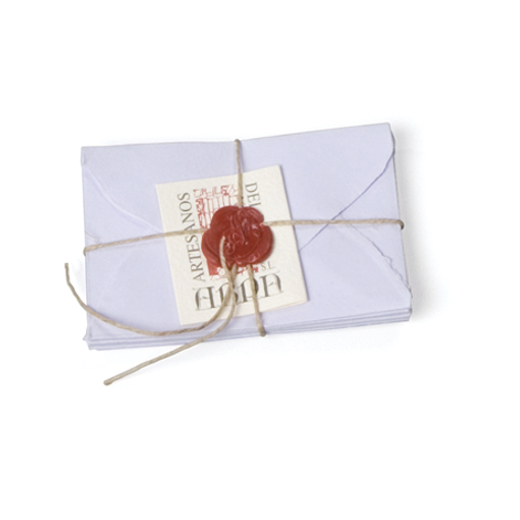 Arpa Small Card Set Apra, handmade, sealing wax
