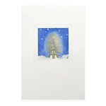 Starlight Eiffel Tower Card