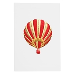 Seasons Greetings Red Balloon Card