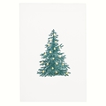 Green Fir Tree w/Gold Ornaments Card