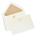 Gold Engraved & Embossed Flat Note Cards - FIRSTEGOLD