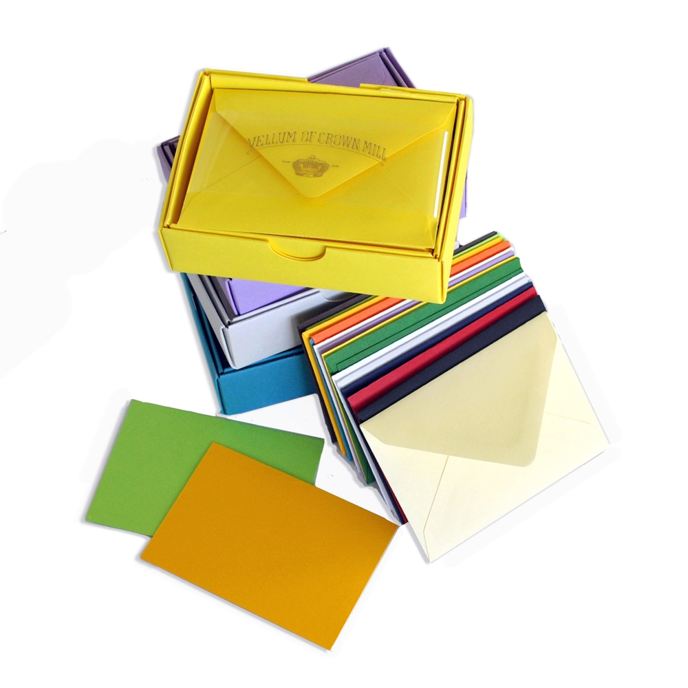 Color Vellum Small Card Box - OCM609