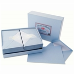Classic Laid Correspondence Presentation Box Original Crown Mill, Classic, Presentation Boxes, Laid, Stationery