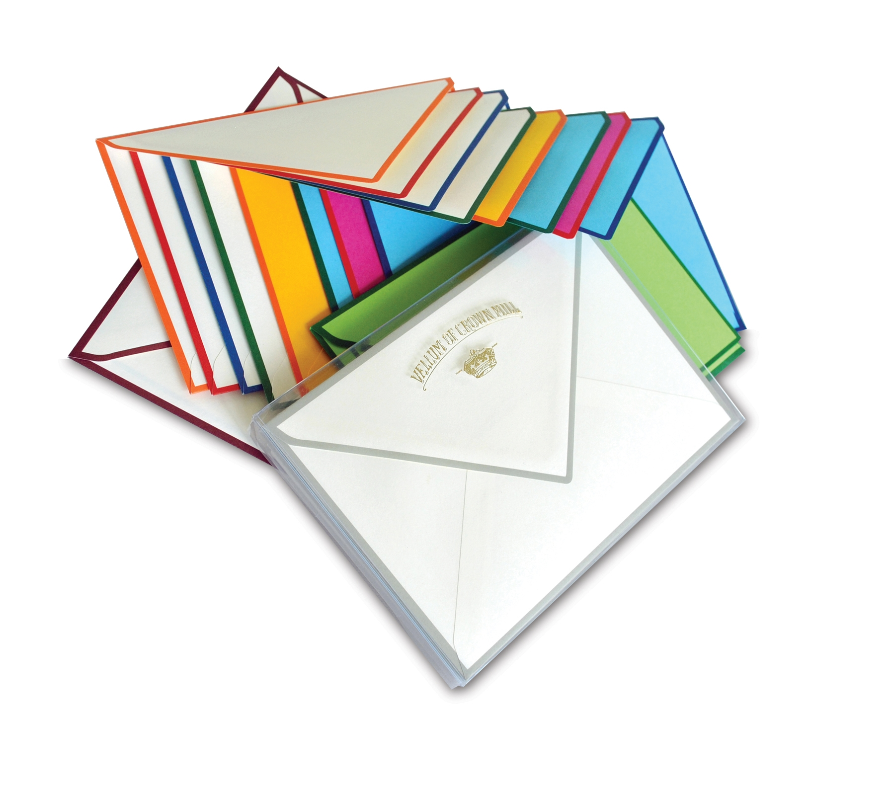 Color Edge Social Note Box - OCM-CE