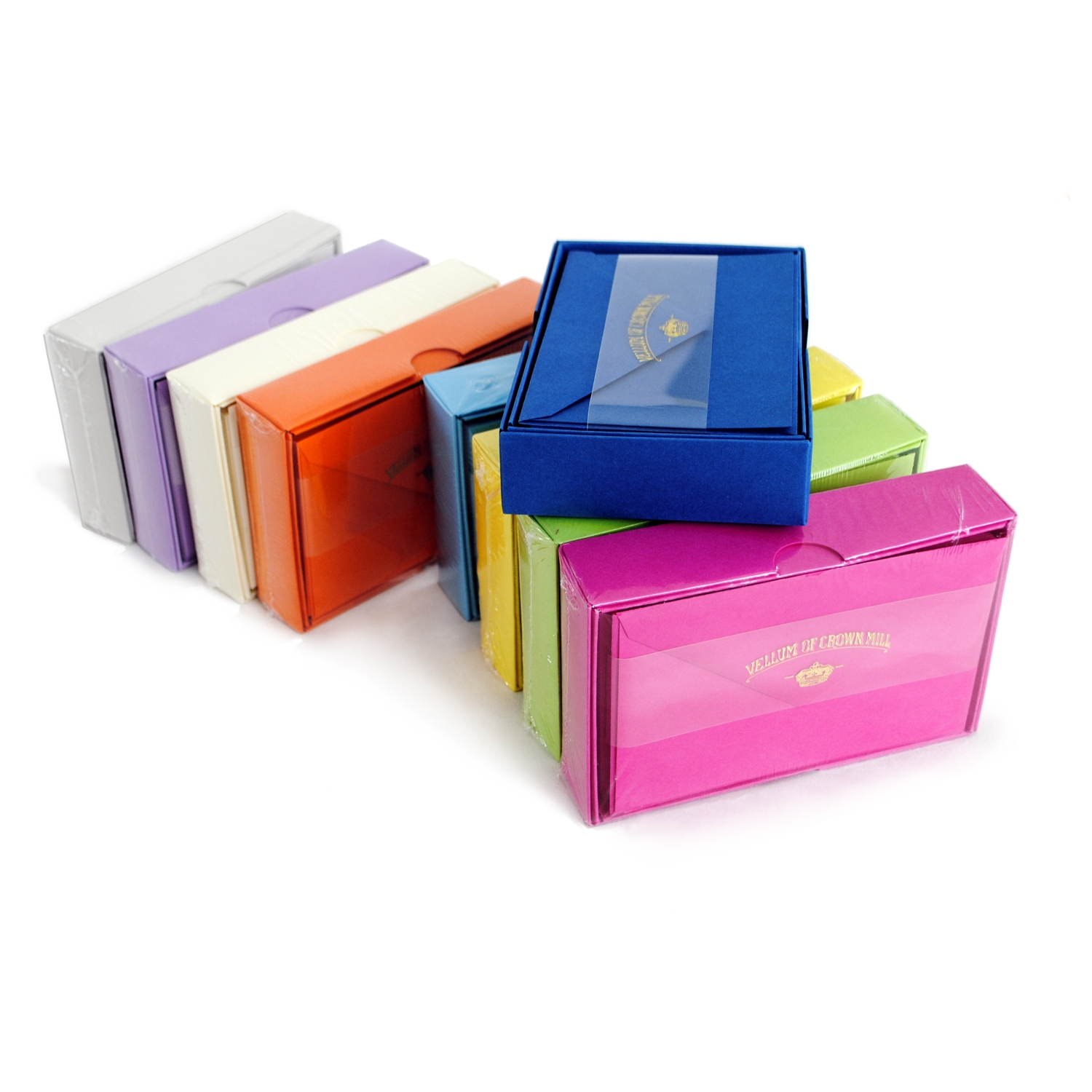 Color Vellum Note Card Stationery - OCM623