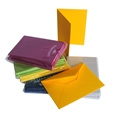 Color Vellum Folded Card Sets