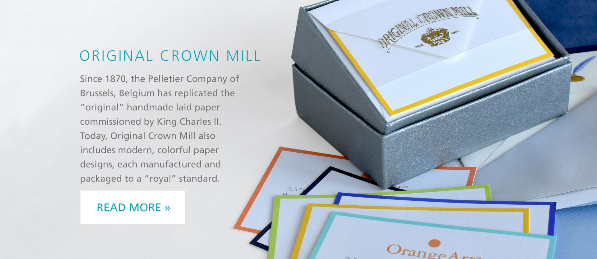 Featured Brand Original Crown Mill Stationery!