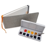 Travelogue Linen Watercolor Journals Travelogue, Linen, Watercolor Journals, panorama