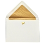 Gold Icon Engraved Blank Cards - FIRSTE56G