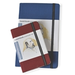 Travelogue Portrait Journals hard-bound journal book cloth