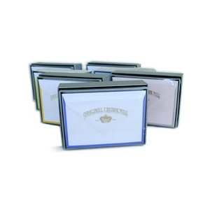 """Bi-Color"" Small Card Box Original Crown Mill, Bi-Color, OCM, Note Cards, Cards, border"