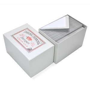 Classic Laid Note Card Presentation Box Original Crown Mill, Classic, Presentation Boxes, Laid, Stationery
