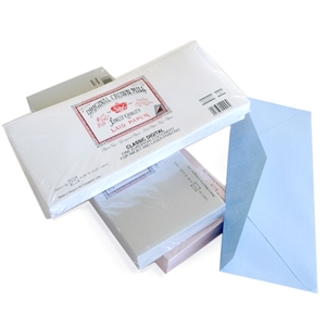 Classic Laid Business #10 Envelope Package