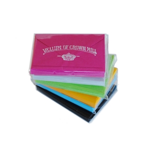 Color Vellum Mini Gift Card Sets