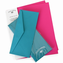 Color Vellum Sheet and Env Packs