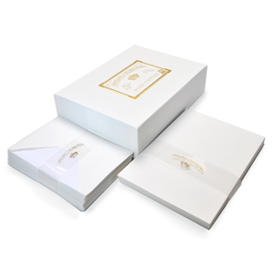 Pure Cotton Correspondence Presentation Box Original Crown Mill, Cotton, Presentation Boxes, OCM