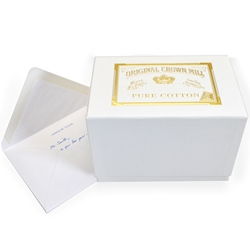 Pure Cotton Note Card Presentation Box
