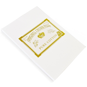 Pure Cotton Correspondence A5 Pad Original Crown Mill, Cotton,sheet pads, OCM