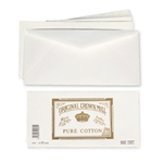 Pure Cotton Envelopes (for A4 Letter Pad) Original Crown Mill, Cotton, envelopes, OCM