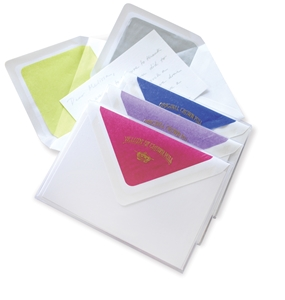 """Silk"" Tissue Note Card Box"
