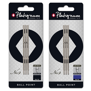 Platignum No. 9/Carnaby Ball Point Pen Refill