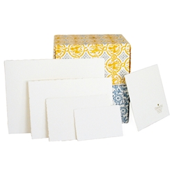 Deckle Edge Flat Cards