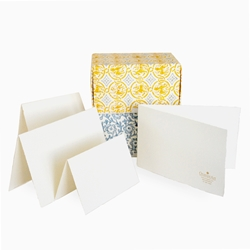 Deckle Edge Folded Cards