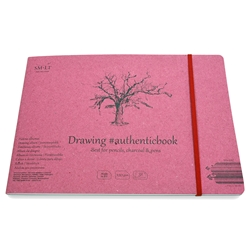 Stitched White Drawing Paper Album