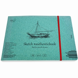 Stitched White Sketch Paper Album